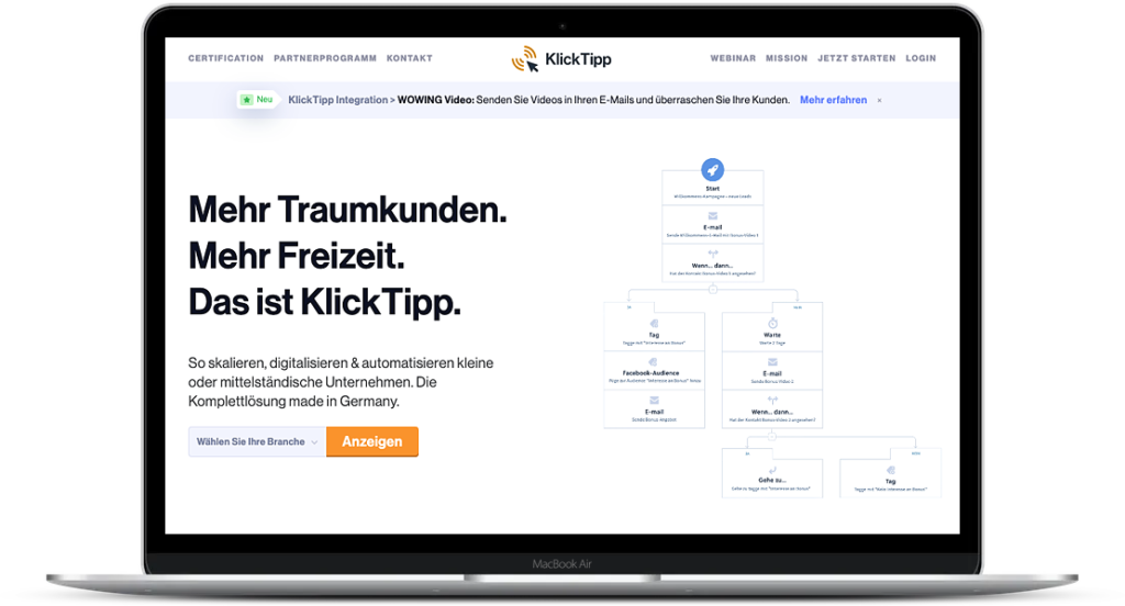 Klick-Tipp Test
